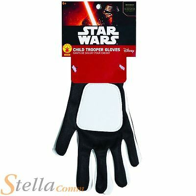 Child Storm Trooper Flametrooper Star Wars Force Awakens Fancy Dress Gloves