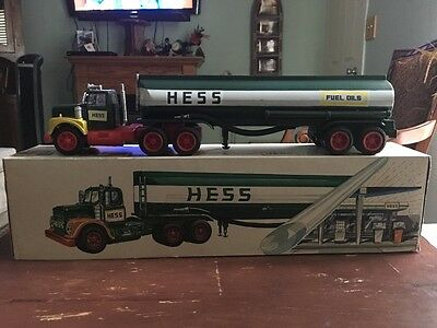 1968 Hess Tanker Truck,Vintage Rare  Collectible