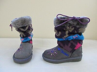 NEW! Toddler Girl's Twinkle Toes Glam Slam Runaway Dreamer Boots 10415N CCPR 26D