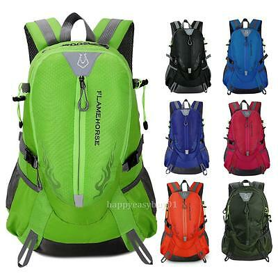 Waterproof Outdoor Sports Shoulder Bag Travel Nylon Backpack Hiking Camping