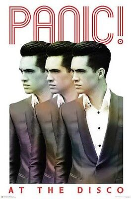 Panic At The Disco Repeat Music Poster Print Brendon Urie New 24x36