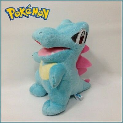 Pocket Monster Pokemon Plush Totodile Soft Toy Stuffed Animal Doll  Figure 7""