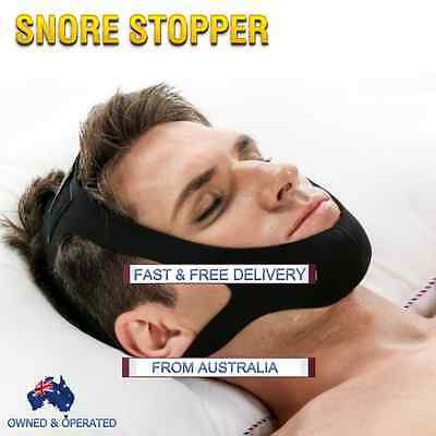 Stop Snoring: Snore Stopper Chin or Jaw Strap Anti Snore and Sleep Apnea