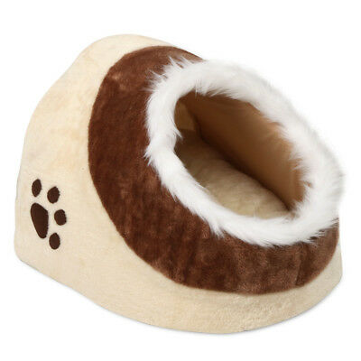 Soft Cosy Cat/dog/pet Bed Igloo Warm/comfy Kitten/puppy & Thick Cushion Washable