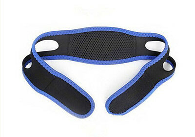 Anti Snore quality adjustable Chin and Jaw apnea support strap for men or women