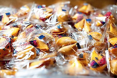 Fresh Golden Bowl Fortune Cookies Individually Wrapped 100 pcs No MSG