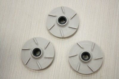 3x Grindmaster Crathco Impeller Gray 3587 & 3220 Grey