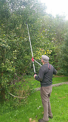 Barnel Telescopic loppers Pruner Pole long reach branch cutter shears cut tree