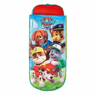 2 in 1 Paw Patrol Airbed & Sleeping Bag in One, Childrens Sleepover Child Kids