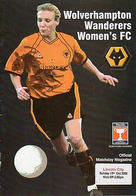 Ladies Football - Wolves v Lincoln City 15.10.2006