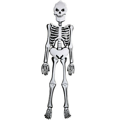 """Cheap 5ft Inflatable Skeleton – 60"""" Blow Up Halloween Decoration Bristol Novelty"""