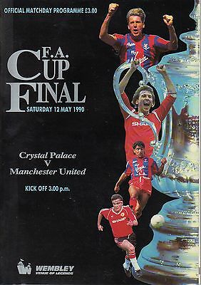 Crystal Palace v Manchester United 1990 FA Cup Final