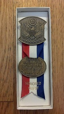 1976 Democratic National Convention Honored Guest Delegate Medal Badge