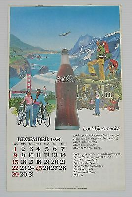 Coca-Cola 1975 Calendar - NEW  FREE SHIPPING