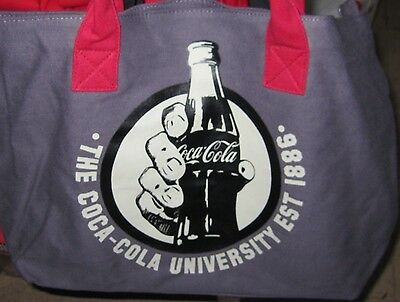 Coca Cola GrayTote/Bag  NEW