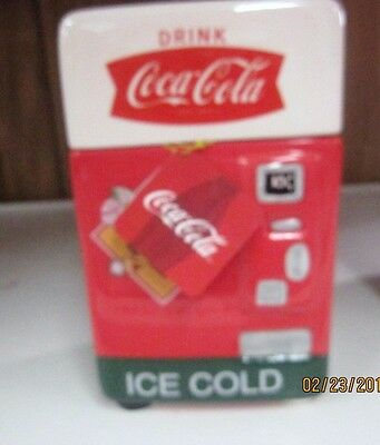"""Coca-Cola """"Drink Ice Cold """"Canister/Cookie Jar  - NEW"""