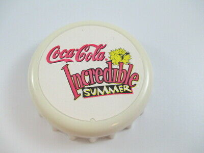 Coca-Cola Bottle Cap Opener Magnet - FREE SHIPPING
