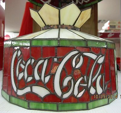 "Coca-Cola Hanging / Lamp Shade (12"" Diameter) - BRAND NEW"
