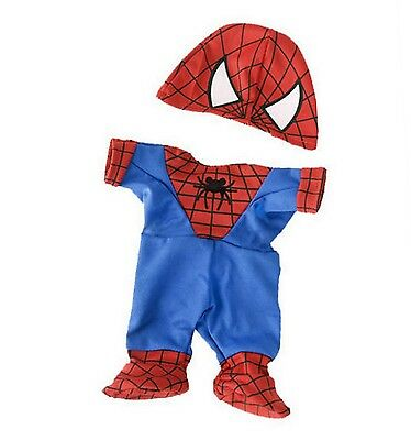 Bear Clothes Teddy SPIDER HERO Clothing Bulk Party School Gifts Fund Raising