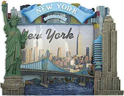 new york nyc souvenirs picture frame ny color skyline