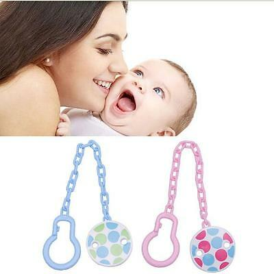 Boy Toddler Toy Baby Pacifier Holder Dummy Hot Soother Infant Girl Chain Clip