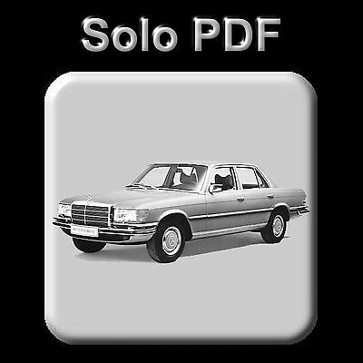 Mercedes W116 - Service Manual - Maintenance - Owners - Wiring