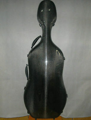 High Quality real carbon fiber cello case 4/4.light weight BeiJing