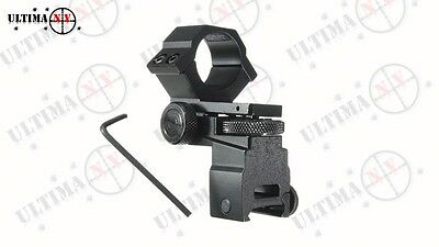 Adjustable Torch Mount (windage and Elevation) Lamping, Night Vision