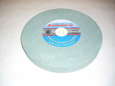 "Green Silicon Carbide Abrasive 8""Grinding Wheel 80 Grit"