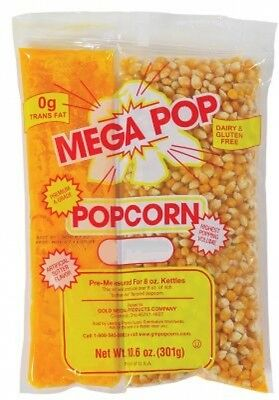 Gold Medal Products Popcorn 24Ct Corn/Oil Kit 2838 of kernels for 8oz