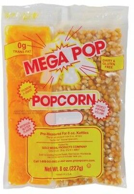 Popcorn Kit by Gold Medal Products Mega(6 Oz. Kit, 36 Ct.)
