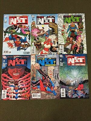 The Next #1-6 Set/Tad Williams/Dietrich Smith/Superman/2006 DC Comics