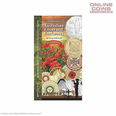 2015 22nd Edition Pocket Guide to Australian Coins and Banknotes - Greg McDonald