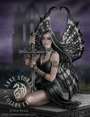 """Lost Love"" by Anne Stokes Fine Art Print 5"" x 7"""