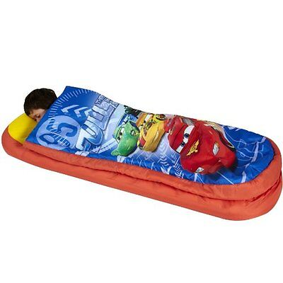 New 2 in 1 Disney Cars Airbed and Sleeping Bag, Portable Kids Child Toddler Bed