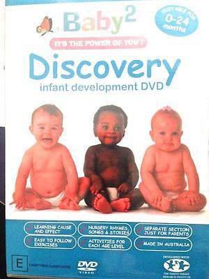 Baby2 Discovery Infant Development DVD Baby 0-24months It's the Power of You