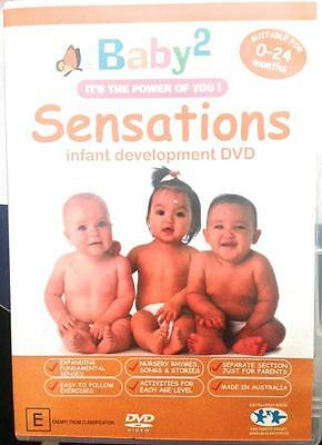 Baby2 Sensations Infant Development DVD Baby 0-24months It's the Power of You
