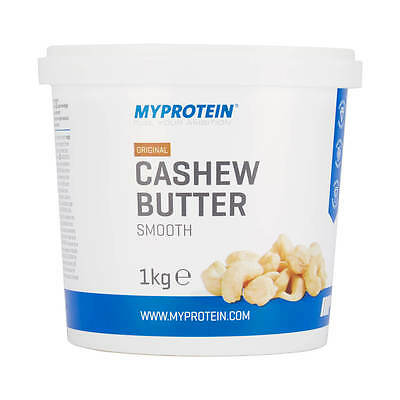 Myprotein: Natural Cashew Butter - Food - Tub - 1kg