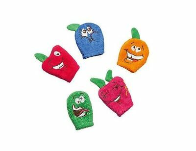 AVON Bath Time Finger Puppets  sealed pack of 5 bath time fun! (A)