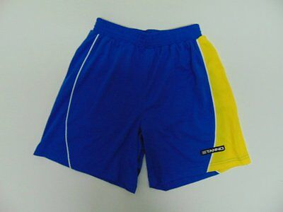 2000 2015 Stanno blue Men's shorts retro soccer football old running vintage M