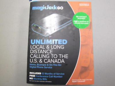 MagicJack Go Unlimited Local Long Distance Calling