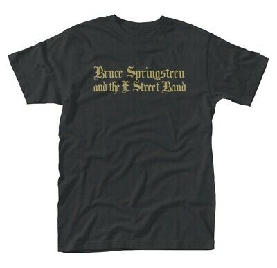 Bruce Springsteen 'Black Motorcycle Guitars' T-Shirt - NEW & OFFICIAL!