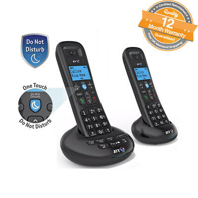 BT 3570 Twin Digital Cordless Answerphone With Nuisance Call Blocking and Caller