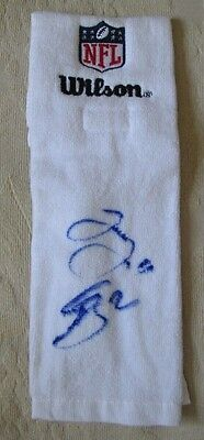Rare Jesse James + 1 More Auto Signed Nfl Issued Towel Pittsburgh Steelers