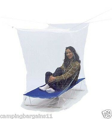 Mosquito Net Box Style Rectangle Compact SINGLE or DOUBLE 156 hole per Sq.inch