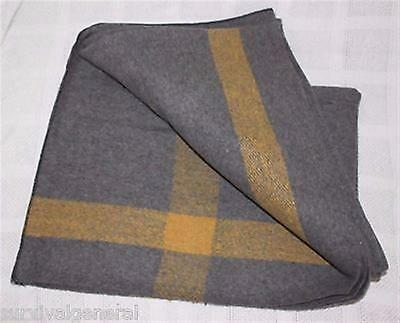 Wool Blanket 55% Home Army Cadet Scouts Emergency Rescue Camping School Camp