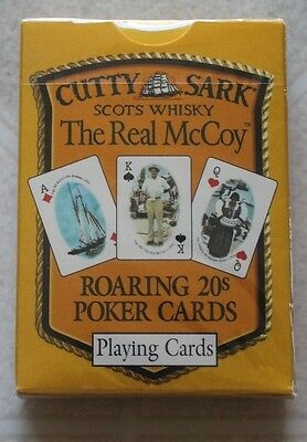 1994 CUTTY SARK Scots Whisky Scots Whiskey Playning Cards Sealed Deck ~~~NOS!~~~