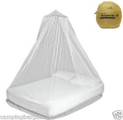 OUTBACK POP UP Mosquito Net Pemethrin impregnated Bell Style 550 holes sq inch