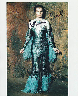 Catherine Schell SIGNED photo - J115 - Space: 1999