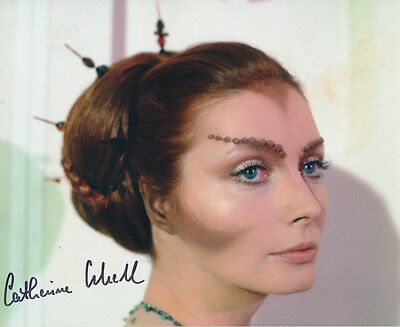 Catherine Schell SIGNED photo - J122 - Space: 1999